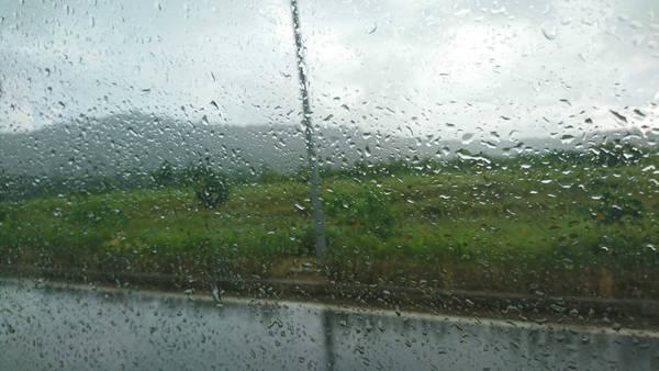 Phú Quốc đón tôi bằng một cơn mưa nhẹ bất chợt của mùa hè, làm tôi tưởng tượng như cảm xúc của một cô gái đón người yêu lâu ngày trở về vậy.