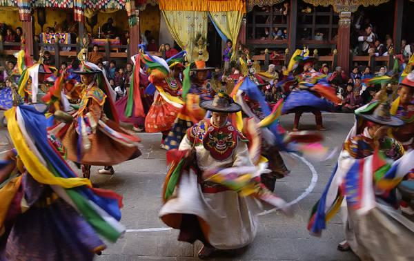 Đây cũng là một trong số các quốc gia chưa từng bị xâm lăng hay cai trị. Nền văn hóa của Bhutan được gìn giữ trọn vẹn, không bị ảnh hưởng nhiều từ các quốc gia bên ngoài. Ảnh: Kingdom of Bhutan.