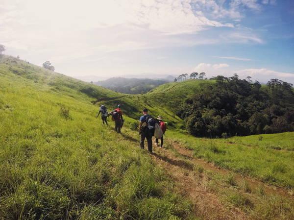 Ngày đầu tiên trên hành trình Tà Năng - Phan Dũng -Ảnh: Lê Đức Phú Quang