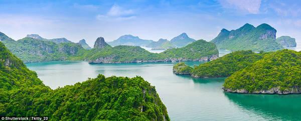 Mu Ko Ang Thong ở Thái Lan - Ảnh: Shutterstock