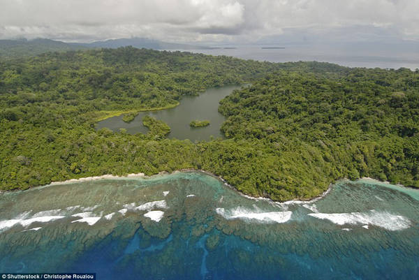 Đảo Tetepare, Solomon - Ảnh: Shutterstock