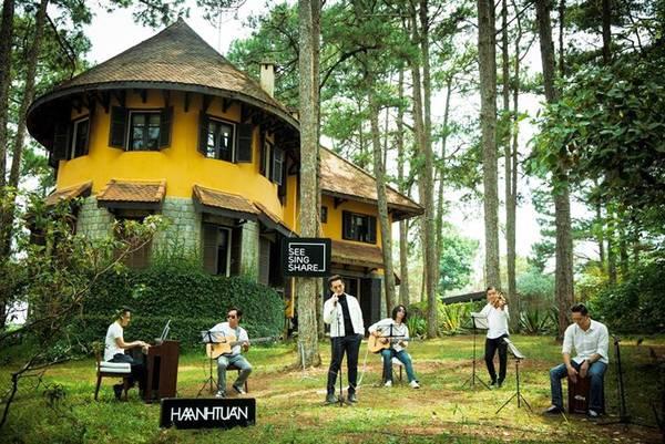 Ana Mandara Villas Đà Lạt Resort & Spa là một trong những nơi được chọn làm bối cảnh trong MV thuộc series See Sing Share của ca sỹ Hà Anh Tuấn.