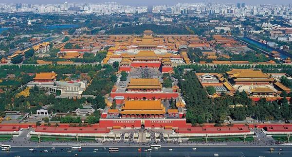 Toàn cảnh Tử Cấm Thành ở Bắc Kinh, Trung Quốc. Ảnh:  Jootix.