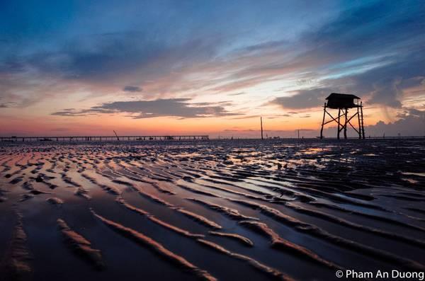 Biển Tân Thành buổi hừng đông. Ảnh: Pham An Duong/vnphoto.net