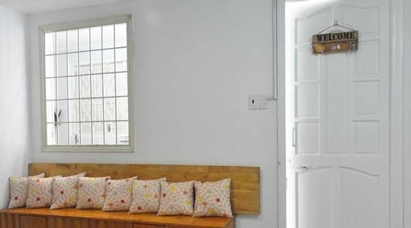 Gác Nhỏ Khu homestay bao gồm những căn hộ mini riêng biệt. Mỗi căn rộng khoảng 50 m2, bao gồm phòng khách, bếp, phòng ngủ và hai toilet, sức chứa khoảng 6 người. Ảnh: Gác Nhỏ.
