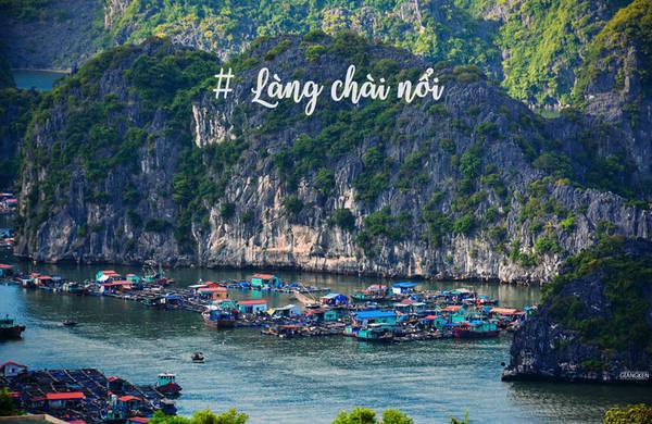 Vịnh Lan Hạ cũng là nơi sinh sống của ngư dân quần tụ trong các làng chài nổi. Một số nhà bè có dịch vụ lưu trú qua đêm cho khách du lịch.