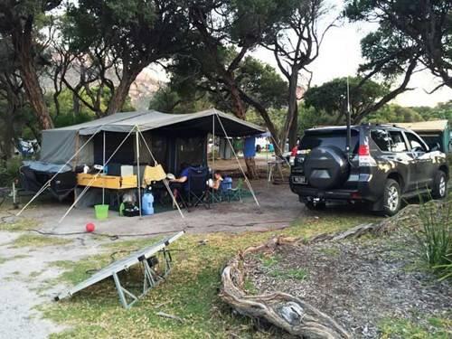Nơi cắm trại trong rừng quốc gia