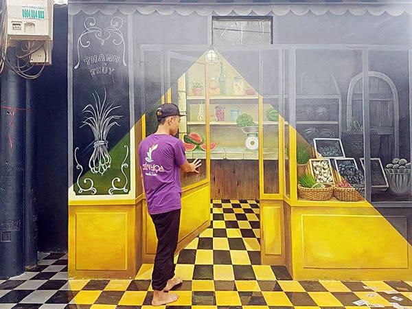 Theo anh Tuyên, tranh 3D, đặc biệt là tranh phát sáng vẫn còn rất mới lạ ở Việt Nam. Thiên nhiên ở Gành Yến còn rất hoang sơ, người dân chân chất nên anh Tuyên tin dự án này sẽ góp phần thay đổi cuộc sống của họ khi được du khách chú ý đến.