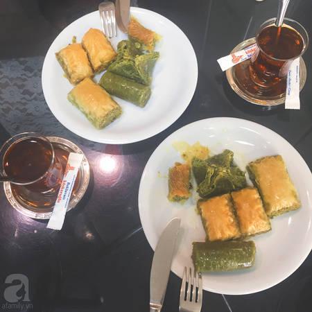Một bữa ăn đặc trưng của người Thổ Nhĩ Kỳ