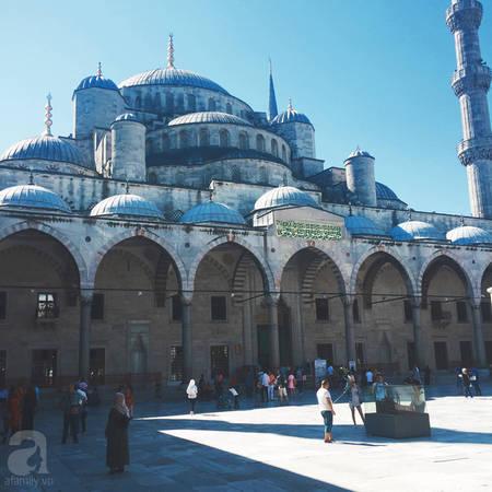 Blue Mosque – thánh đường xanh