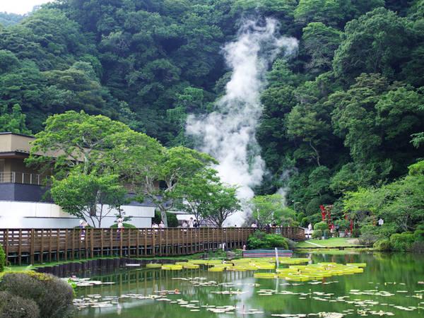 Tại xứ sở của suối nước nóng Oita, thành phố Beppu là nơi nổi tiếng nhất với các mạch, hồ nước nóng phun trào từ lòng đất và luôn bốc hơi nghi ngút thu hút du khách khắp nơi đến tham quan. Beppu có tám jigoku, trong tiếng Nhật là địa ngục, chỉ các suối nước nóng lớn. Nước ở các suối này có nhiệt độ khoảng 50-99,5 độ C. Du khách còn có thể mua trứng luộc từ chính nước suối.