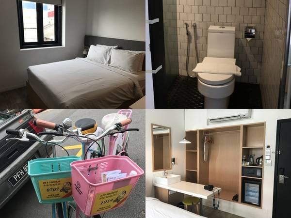 Ở đâu?  Khách sạn tại Penang khá rẻ. Chỉ khoảng 350.000 đồng/đêm, bạn thừa sức thuê một phòng gọn gàng, sạch sẽ ngay trung tâm George town. Nên chọn khách sạn có vị trí thuận tiện như đường Lebuh Chulia, nhiều quán ăn, cà phê lại khá gần các điểm tham quan.  Hầu hết khách sạn đều cung cấp dịch vụ cho thuê xe và một số tour trong ngày nếu du khách có nhu cầu.