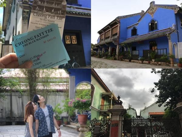 Hãy đến thăm Peranakan The Green Mansion (29, Church street) được trang tripadvisor đánh giá đứng 1/134 điều cần phải làm khi đến Penang. Giá vé 20 RM/người (khoảng 100.000 đồng/người) kèm hướng dẫn viên tiếng Anh, Trung. Miễn phí cho trẻ em dưới 6 tuổi.  Giá vé vào cổng Cheong Fatt Tze the blue mansion (14 Leith street) rẻ hơn, 17 RM/người (khoảng 85.000 đồng/người) nhưng khu vực tham quan bị giới hạn để tránh làm phiền khách trú qua đêm. Ngoài ra, du khách muốn trải nghiệm tiệc trưa, tối, theo phong cách người Peranakan thì có thể tham khảo giá cả trên trang chính của The blue mansion.  Hai kiến trúc này thể hiện rõ nét nhất văn hóa của người Peranakan ở Malaysia. Đối với những ai mê văn hóa, lịch sử thì đây là điểm đến khá thú vị.