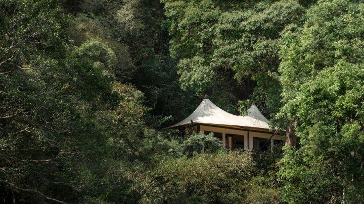 Nằm giữa một khu rừng tre ở ngã ba sông Ruak và sông Mê Kông trong khu vực Tam giác Vàng, Four Seasons Golden Triangle là một trong những khu nghỉ dưỡng cao cấp và đắt đỏ bậc nhất.