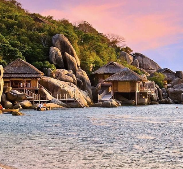 Six Senses Ninh Vân Bay là resort biệt lập cực kỳ nổi tiếng ở Nha Trang. Ảnh:@exquisite_hotels