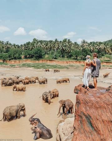 Jack và Lauren thu hút vô số thương hiệu có tiếng trên thế giới tài trợ cho những chuyến đi nối tiếp.
