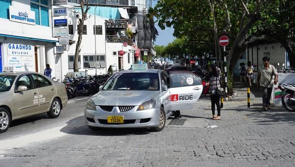 Taxi ở Malé