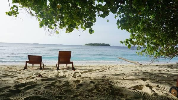 Một góc đảo Bandos resort