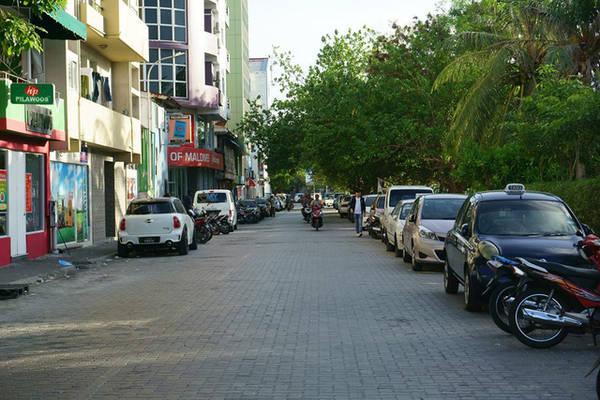 Đường phố thủ đô Malé