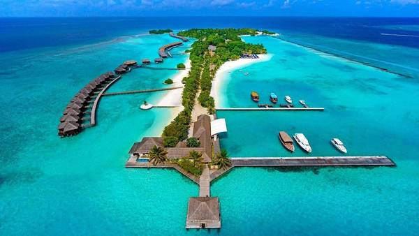 Sheraton Maldives Full Moon Resort & Spa - Ảnh: Sheraton