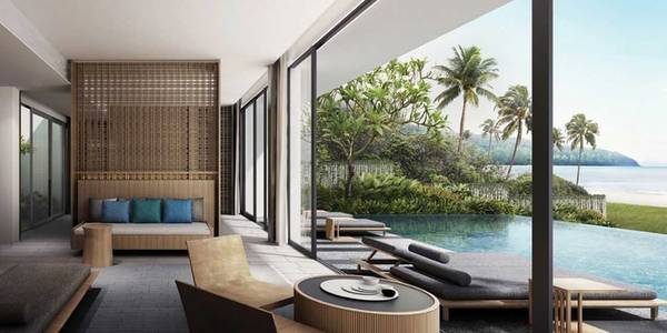 Chuỗi biệt thự Alila Villas (phòng đôi có giá từ 300 USD) trên đảo Koh Russey, Campuchia được xây dựng trên một diện tích rộng lớn của rừng và biển. Mỗi biệt thự rộng rãi đều có hồ bơi riêng nhìn ra vịnh Thái Lan.