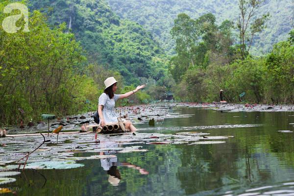 Đây cũng là nơi lý tưởng cho những du khách muốn tìm về bình yên ngay trong lòng Hà Nội.