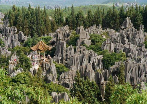 Năm 2007, UNESCO công nhận Thạch Lâm là di sản thiên nhiên thế giới.