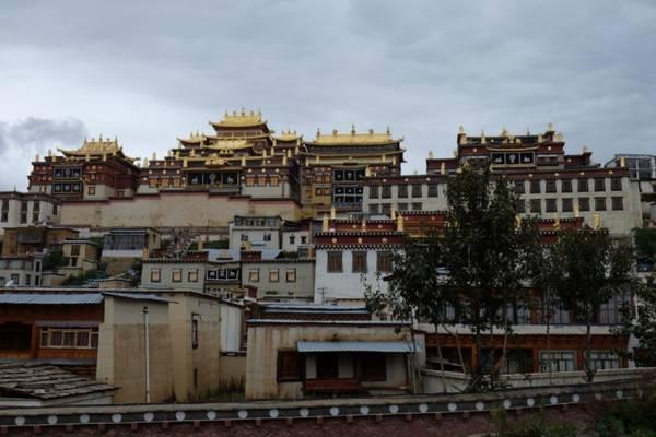 Tu viện phật giáo Songzanlin.