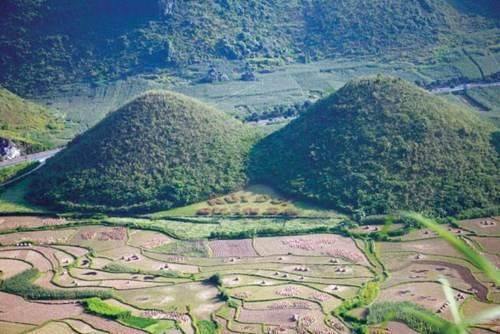 Núi cô Tiên ở Quản Bạ