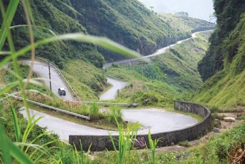 Dốc Chín Khoanh thuộc địa phận xã Phố Cáo, huyện Đồng Văn, Hà Giang