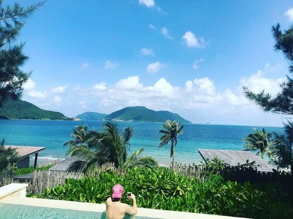 Biển trời hoang sơ ở Côn Đảo. Ảnh: jjin_hk