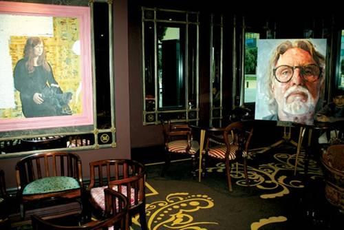 Khách sạn QT Museum Wellington với nhiều tác phẩm nghệ thuật giá trị