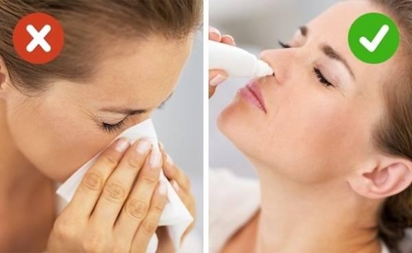 Lên máy bay với chiếc mũi bị nghẹt Một chiếc mũi nghẹt sẽ tạo áp suất cao hơn cho tai của bạn và có thể dẫn tới chấn thương. Dĩ nhiên, không ai yêu cầu bạn ở nhà chỉ vì bị cảm cúm, nghẹt mũi, nhưng trong trường hợp bạn vẫn di chuyển bằng máy bay, hãy mang theo thuốc nhỏ mũi để dùng trước khi máy bay cất và hạ cánh. Ngoài ra, bệnh viêm xoang và viêm xương hàm trên rất nguy hiểm khi đi máy bay. Nếu không thể hủy chuyến bay, bạn hãy đến bác sĩ để có lời khuyên cụ thể hơn.