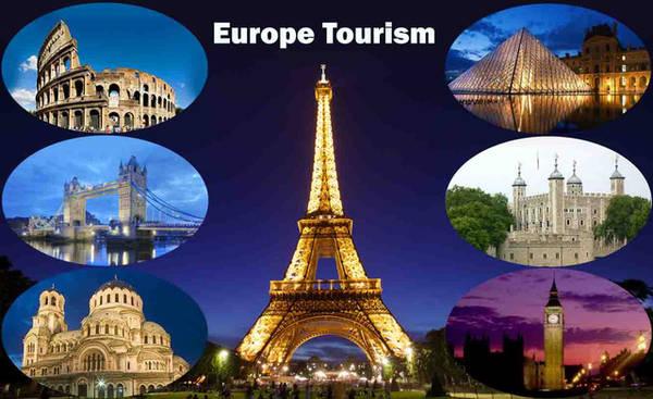 Châu Âu có rất nhiều địa danh hấp dẫn - Ảnh: Europe tour