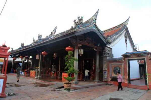 Đền Cheng Hong Teng - Ảnh: Đức Hùng