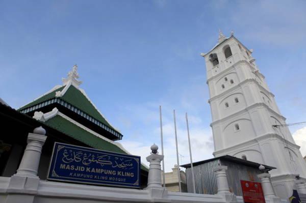 Nhà thờ Hồi giáo Kampung Kling - Ảnh: Đức Hùng