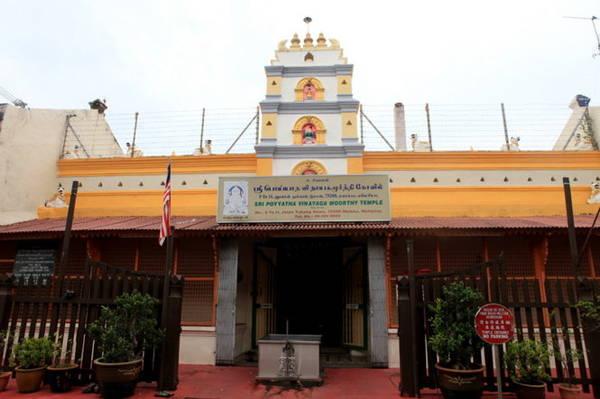 Ngôi đền Sri Poyyatha Vinayagar Moorthi - Ảnh: Đức Hùng