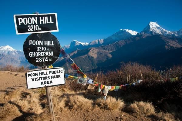 Quang cảnh Poon Hill. Ảnh: greenvalleynepaltreks
