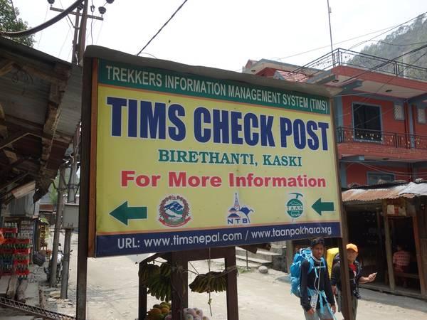 Điểm kiểm tra TIMS và Permit Card