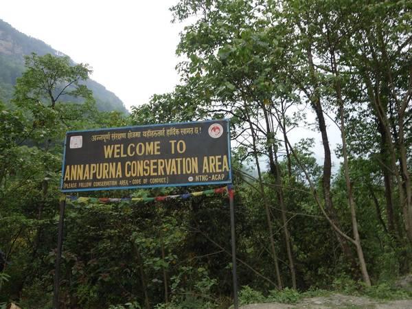 Chào mừng đến khu bảo tồn Annapurna