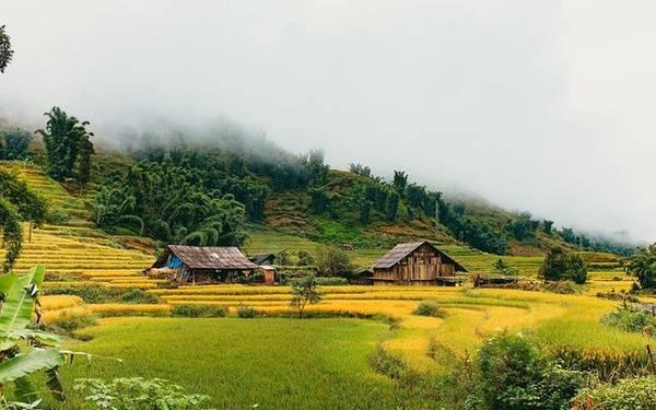 Sa Pa với ruộng bậc thang hay núi rừng hùng vĩ mà vẫn đầy đủ tiện nghi sẽ là điểm đến lý tưởng vào mùa thu. - Ảnh: Lê Quang Huy