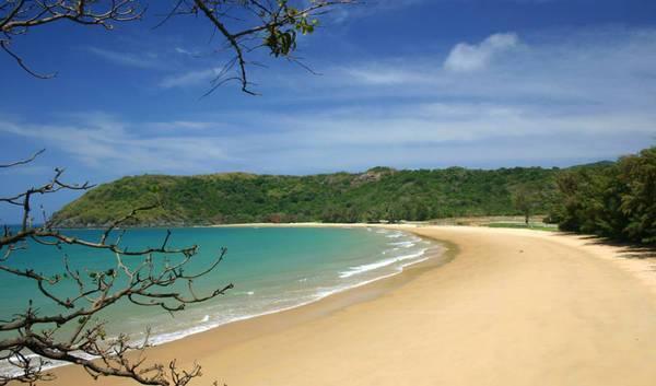 Bãi biển hoang sơ của Côn Đảo.