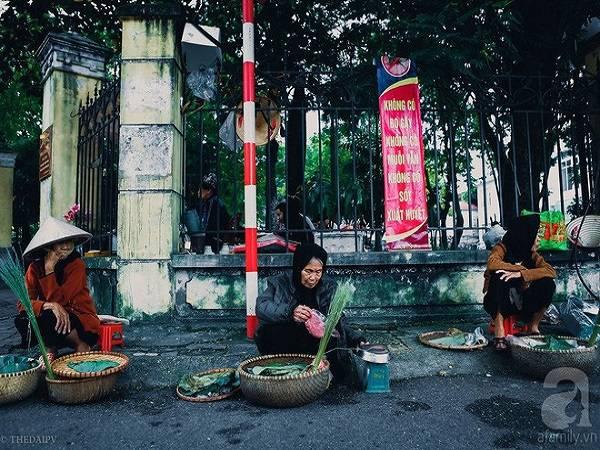 Cốm vòng – hồng ngâm, cặp đôi níu mùa thu muộn rất tình của Hà Nội