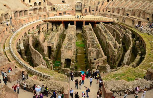Đấu trường Colosseum, Roma, Italy. Ảnh: Italytravel