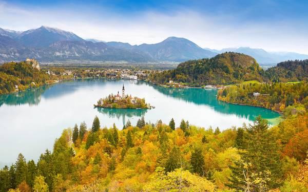 Hồ Bled, Slovenia. Ảnh: Telegraph