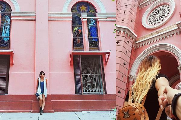 Nhờ màu sắc bắt mắt mà nơi đây trở thành điểm chụp ảnh lý tưởng của giới trẻ Sài Gòn và khiến nhiều du khách tò mò tìm đến. Ảnh: Instagram