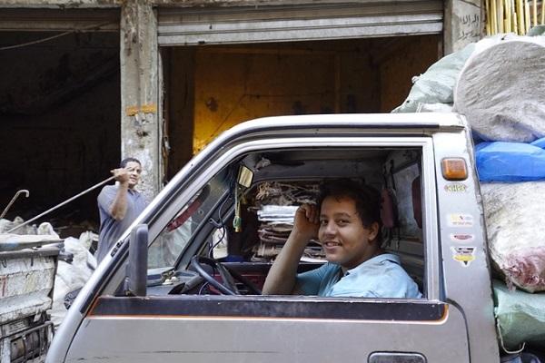 """Zabbaleen - """"người rác"""" trong tiếng Ảrập là từ chỉ những người sống ở khu vực này."""