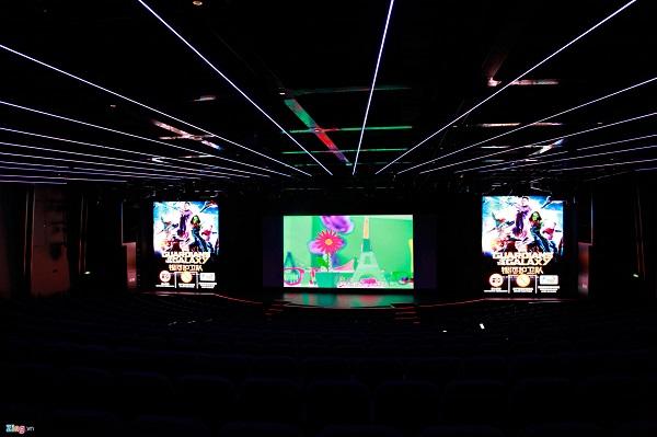 World Dream còn có một phòng chiếu phim cỡ lớn. Một số dịch vụ như hồ bơi, sân bóng rổ, rạp chiếu phim, phòng tập GYM sẽ mở cửa miễn phí. Những dịch vụ cao cấp hơn như massage, bar sẽ tính phí.