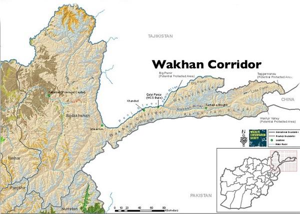 Bản đồ hành lang Wakhan