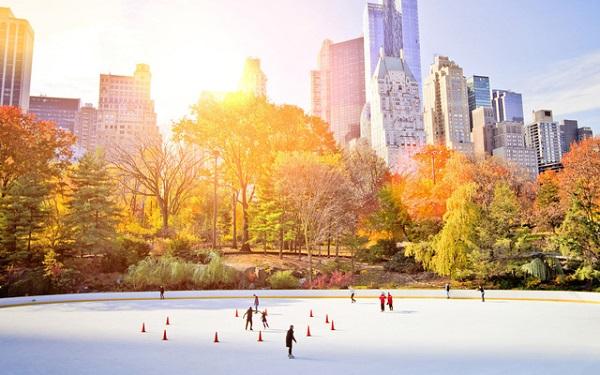 Mùa đông ở New York khá lạnh nhưng không vì thế mà kém hấp dẫn.